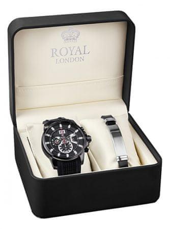 Royal London sada hodinek s náramkem 41348-01-SET