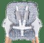 3 - Lionelo krzesło do karmienia Koen 2w1 Grey/Yellow