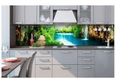 Dimex Fototapeta do kuchyne KI-260-034 Relax pri jazere 60 x 260 cm