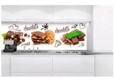 Dimex Fototapeta do kuchyne KI-180-021 Kocky čokolády 60 x 180 cm