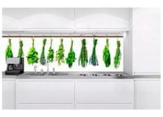 Dimex Fototapeta do kuchyne KI-180-007 Bylinky 60 x 180 cm