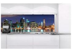 Dimex Fototapeta do kuchyne KI-180-017 Nočný Manhattan 60 x 180 cm