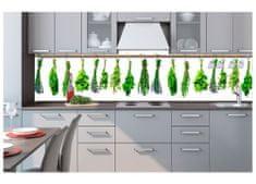 Dimex Fototapeta do kuchyne KI-260-007 Bylinky v kuchyni 60 x 260 cm