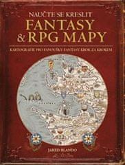 Blando Jared: Naučte se kreslit fantasy a RPG mapy