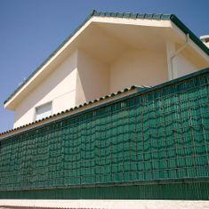 TENAX SPA Umělý rákos NILO PLUS 1m x 3m, zelená barva