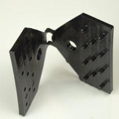TENAX SPA Úchyt na stínící sítě CLIPS RETE 100, černá (1 kus)