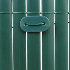 TENAX SPA Zelené svorky k umělému rákosu - 26 kusů