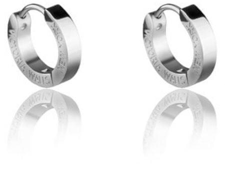 VictoriaWallsNY Acél fülbevaló gyűrűk VE1048S