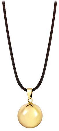 MummyBell Pozlačena ogrlica AZ20