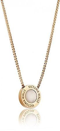VictoriaWallsNY Aranyozott acél nyaklánc VN1053G