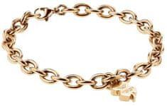 VictoriaWallsNY Zapestnica iz masivnega zlata za srečo VB1043G