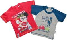 Gelati Chlapecký set 2 ks triček Scientist - barevný