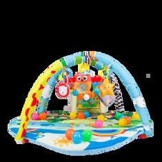 Lionelo Játszó szőnyeg IMKE lufikkal és házikóval