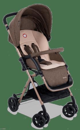 Lionelo wózek sportowy LEA Brown