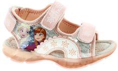 Disney by Arnetta dívčí svítící sandále Frozen