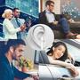 4 - Trevi Bluetooth slušalke z mikrofonom HMP 1220 AIR mini, bele