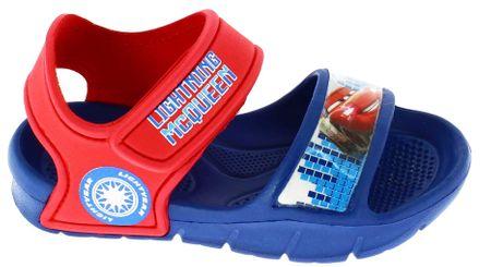 Disney by Arnetta sandale za dječake Cars, 24, crveno-plave