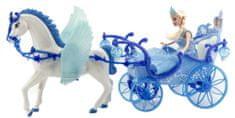 Teddies lalka z koniem i powozem