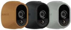 Arlo ochranné silikonové kryty - šedá, černá, hnědá (VMA1200D-10000S)