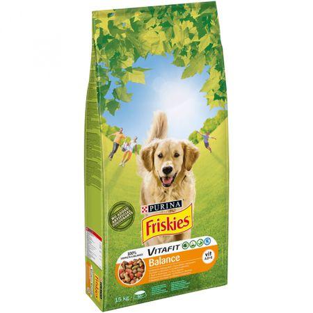 Friskies Adult Balance Száraz kutyatáp 15 kg