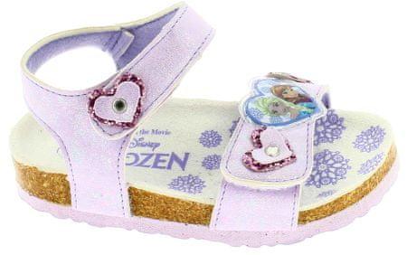 Disney by Arnetta dívčí sandále Frozen 30 fialová