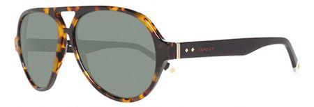 Gant okulary przeciwsłoneczne męskie, brązowe