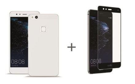 Puro paket ovitek + steklo Huawei P10 Lite, prozoren