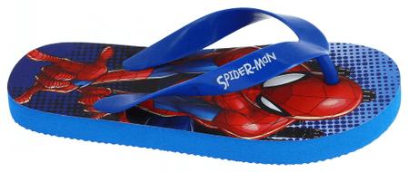Disney by Arnetta chlapčenské žabky Spiderman 34 modrá