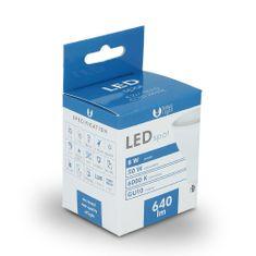 Forever LED žiarovka GU10 8W studená biela