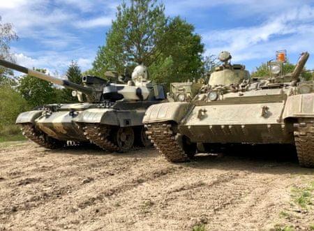 Allegria řízení bojového tanku T55 - premium