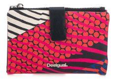 eeb9e944ec Desigual dámská vícebarevná peněženka Mone Wild Jane Julia