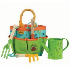 Briers otroški set kovinskega orodja v torbi, zverjasec