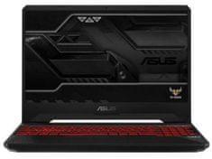 Asus prijenosno računalo TUF Gaming i7-8750H/16GB/SSD 256GB+1TB HDD/GTX1050Ti/15,6FHD/W10H (90NR00S2-M08810)
