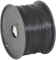 Gembird tisková struna (filament), PLA, 1,75mm, 1kg, černá (3DP-PLA1.75-01-BK)
