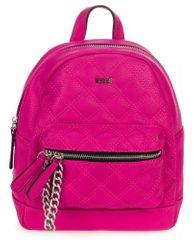 Bessie London rózsaszín női hátizsák