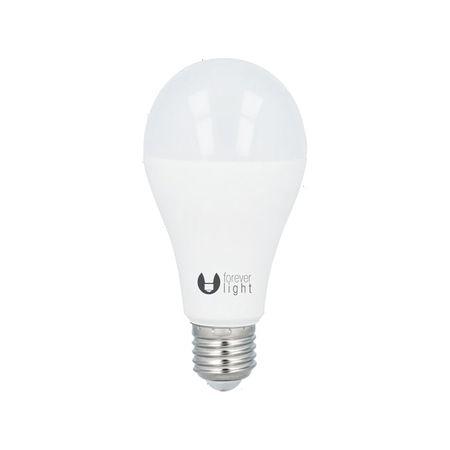 Forever LED žiarovka A65 E27 18W teplá biela