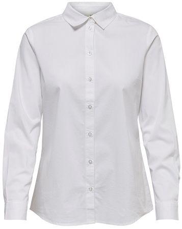 Damska koszula Mio L / S Shirt Wvn Noos White (rozmiar 40)