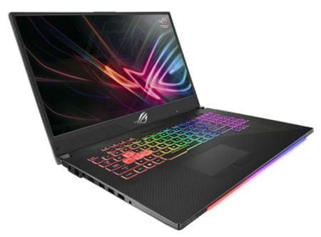Asus prijenosno računalo ROG GL704GV-EV016T i7-8750H/SSD 512GB/RTX2060/17,7''FHD IPS 144Hz/W10H (90NR01Y1-M01340)