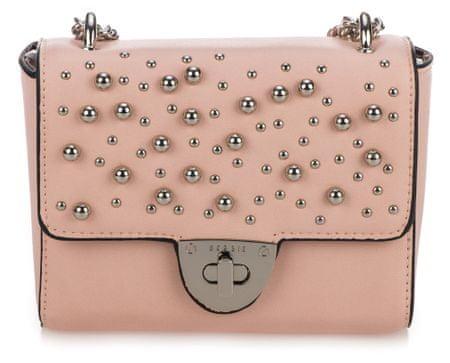Bessie London crossbody kabelka růžová