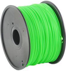 Gembird tisková struna (filament), PLA, 1,75mm, 1kg, zelená (3DP-PLA1.75-01-G)
