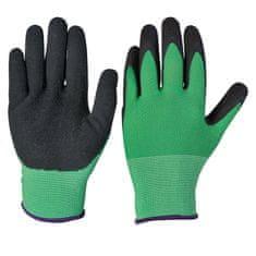 Verdemax Polyesterovo-latexové rukavice, velikost M
