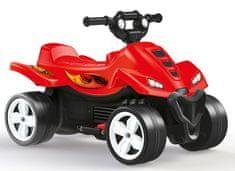 DOLU Elektromos négykerekű piros 6V