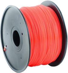 Gembird tisková struna (filament), PLA, 1,75mm, 1kg, červená (3DP-PLA1.75-01-R)