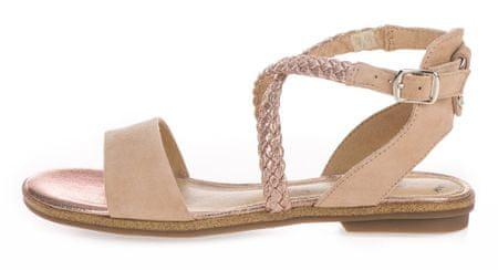 s.Oliver ženske sandale, 37, bež