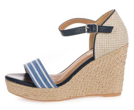 s.Oliver ženske sandale, 40, šarene