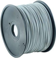 Gembird tisková struna (filament), ABS, 1,75mm, 1kg, šedá (3DP-ABS1.75-01-GR)
