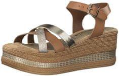 Tamaris Dámske sandále 1-1-28369-22-394 Cognac/Gold