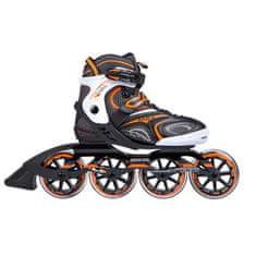 Nils Extreme kolečkové brusle NA 1060 S černo-oranžové