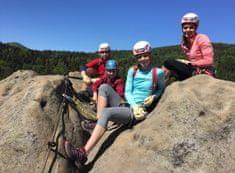 Allegria kurz lezení via ferrat bezpečně