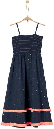 s.Oliver dívčí šaty 140 modrá